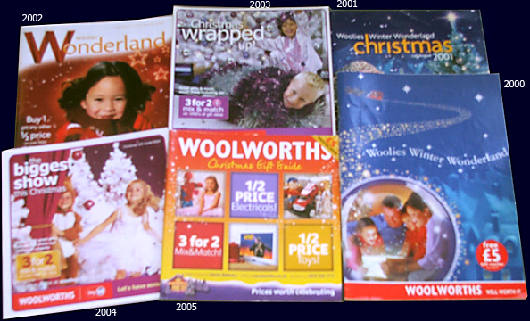 80 years of Woolworth Catalogues